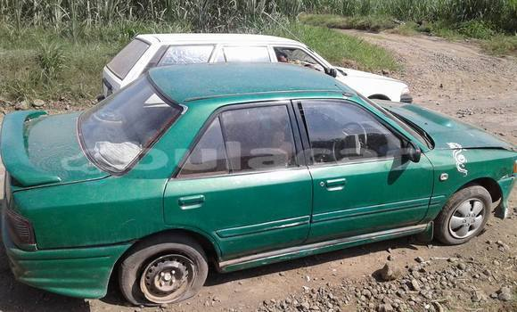 Buy Used Mazda 323 Green Car in Rakiraki in Western